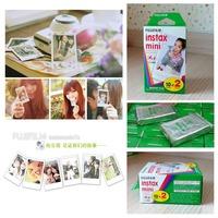 40sheets Fujifilm Instax Mini film for Instant Camera mini 8 7s 25 50s 90 White Edge 3 inch film Photo Paper78618
