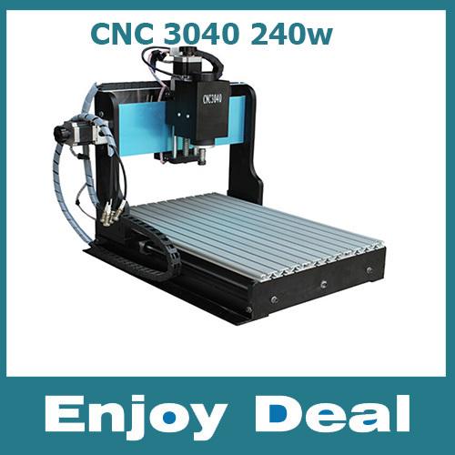 Быстроходный деревообрабатывающий фрезерный станок NEW CNC 3040 3 , 240W быстроходный деревообрабатывающий фрезерный станок 6