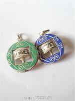 TBP815 Tibetan White Metal Copper Silver Prayer Wheel Mantras Amulet Round Pendants Wholesale Tibet original jewelry 2015 New