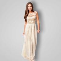 Fashion New 2015 Autumn Winter Lace Openwork Casual Tops Plus Size Sleeveless O-Neck Women's Sexy Dress Female Vestidos