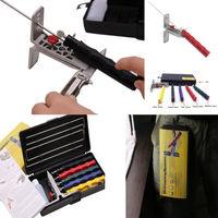 Knife Scissor Blade Kitchen Sharpening  Professional Sharpener System Fix-angle 5 Stone Version Extra Coarse Ultra Fine Grit
