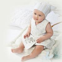 Summer Newborn baby clothes set unisex cotton bandage baby bodysuit 1 headpiece+1 clothes+1 shorts terno infantil menino menina