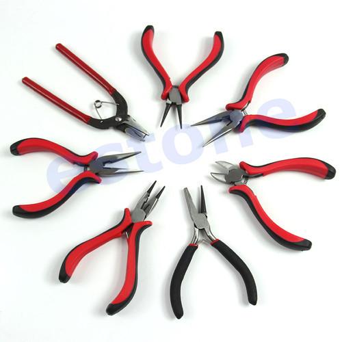 M65 Free Shipping 1PC Pro Bead Crimping Crimper Pliers Beading Jewelry DIY Craft Design Repair Tools(China (Mainland))