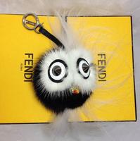 FD Brid Designer Bag Fur Charms Fur Handbag Oraments with Shopping Bag Box Receipt Free Shipping Cheap Price Over 7pc by EMS