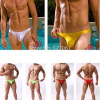 New 6Pcs /Lot Joe Synder Bikini Sexy Men's  Low-Rise Nylon Bikini Underwear Casual Bikini Beach Wear- M,L,XL