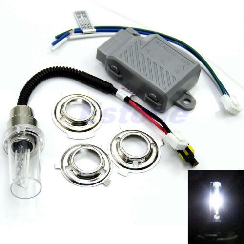 M65 New Arrive 1set Motorcycle Motorbike Headlight Hid Kits Light Bulb H6 6000K 35W Xenon Lamp Drop Shipping(China (Mainland))