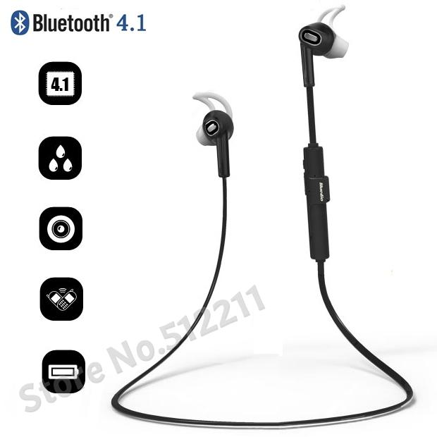 2015 new bluedio m2 in ear wireless bluetooth headset stereo earphone sport h. Black Bedroom Furniture Sets. Home Design Ideas