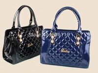 Retail Hot sale fashion lady hand bag Women casual/vintage Bags Solid PU Leather Handbag All-match Handbags Street shoulder Bags