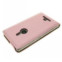 1x Luxury Genuine Leather Case For Nokia Lumia 925 N925 Flip Case+ Free Screen Film + Stylus Pen