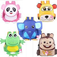 Cartoon animal 3d three-dimensional baby the kindergarten school bag primary school students backpack child Animal Satchel