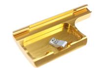 F10621 Aluminum Snap Latch Waterproof Housing Lock for Gopro Hero 3plus Camera Color Gold + Freepost