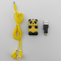 Dropshipping Mini MP3 Music Media Player /mp3 player With Micro TF/SD card Slot with usb cable +headphones.