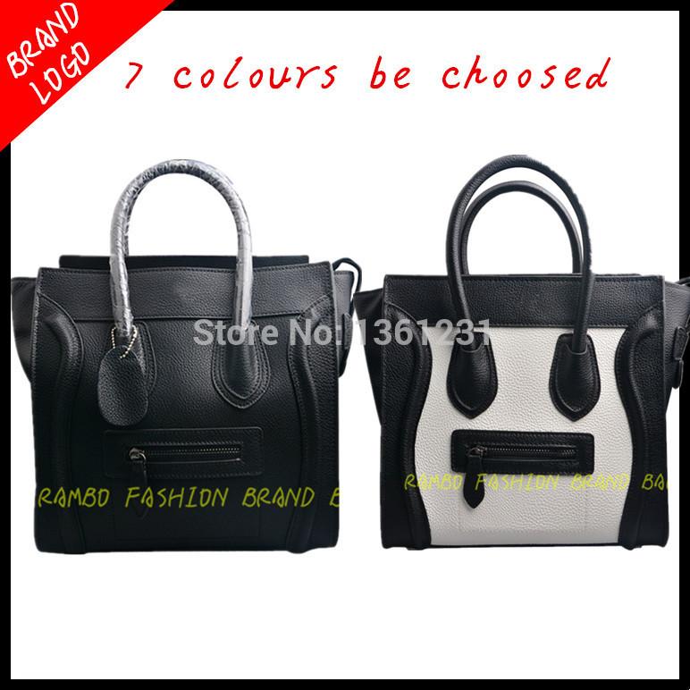 AliExpress.com Product - 2015 Famous Brand Women Genuine Leather Designer Celiness Handbags Smiley Shoulder Tote Bags Desigual Bolsos Mujer De Marca