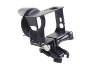 F09612 Black Version Camera Anti- exposure Protective Housing Frame Border for GoPro HD HERO 3 and Hero 3plus Camera + FP