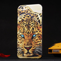 12 Style Fashionable Camouflage Pattern PU  Leather Phone Case for iphone 6  Back Cover with TPU Frame  case  for  iphone 6