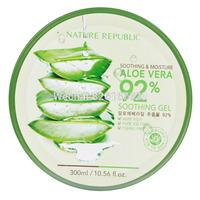 Naturally soothing aloe vera gel moisturizing gel / Gel 300ml sun repair wholesale