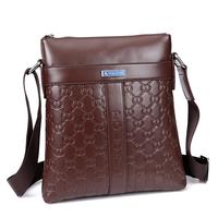 2015 pu leather polo mens bag fashion designer men messenger bags brand male business travel crossbody shoulder bag sac homme