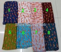 2015 Free shipping ladies fashion new small fox  print scarf