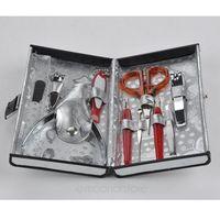 10pcs Nail Tools Manicure Set Kits Cuticle Pushers Scissors Cuticle Pushers Nail Art Cosmetic Makeup Accessories Y55*HJ0002#S7