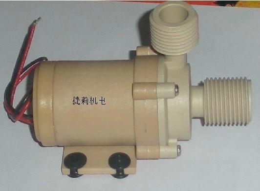 Free ship 1pcs DC12V 6.5 L/Min Solar Hot Water Circulation Pump Brushless Motor Water Pump Water cycle system(China (Mainland))