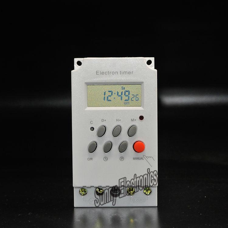 Digitale Zeitschaltuhr Hutschiene Programmierbare Digitale Zeitschaltuhr Hutschiene China Mainland