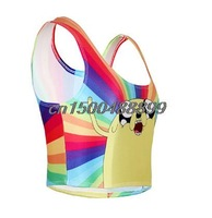 2015 New Summer Dresses women clothing sexy tops for plus size women sleeveless tank tops sport top fitness Female vest