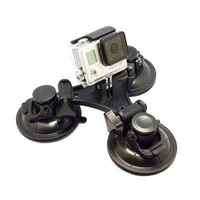 GO38 SJ4000 Gopro sucker with tripod for Gopro Hero 4/3+/3/2/1 Small Size Free Shipping