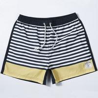 Men's Bermudas beach board shorts striped printed water proof 2015 new bermuda masculina surf roupa de banho shorts surf 00