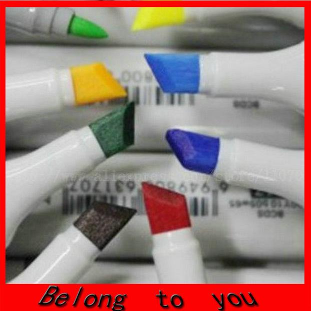 1set = 60-цвета finecolour эскиз маркер ручка алкоголя маркер ручка дешевле copic маркеров искусства