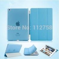 Full Body Smart Case Cover For iPad Mini 3 2 1 Retina Display Ultra Slim Magnetic Luxury PU Leather Flip Stand Wake Up/Sleep