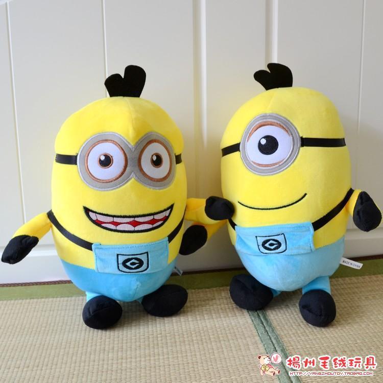 China Plush Doll Plush Toy Talking and Walking Minion Despicable Me Minion Plush Toy for Kids(China (Mainland))