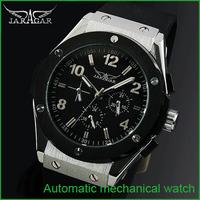 Relojes Sale New Glass Watches 2015 Brand Jargar Watch, Men Sports Fashion Mechanical Watch,calendar/week Casual Watch