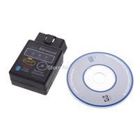 Brand Mini ELM327 Bluetooth V2.1 OBDII OBD2 OBD elm 327 Protocols Car Diagnostic Tool Scanner Works on Android Symbian Windows