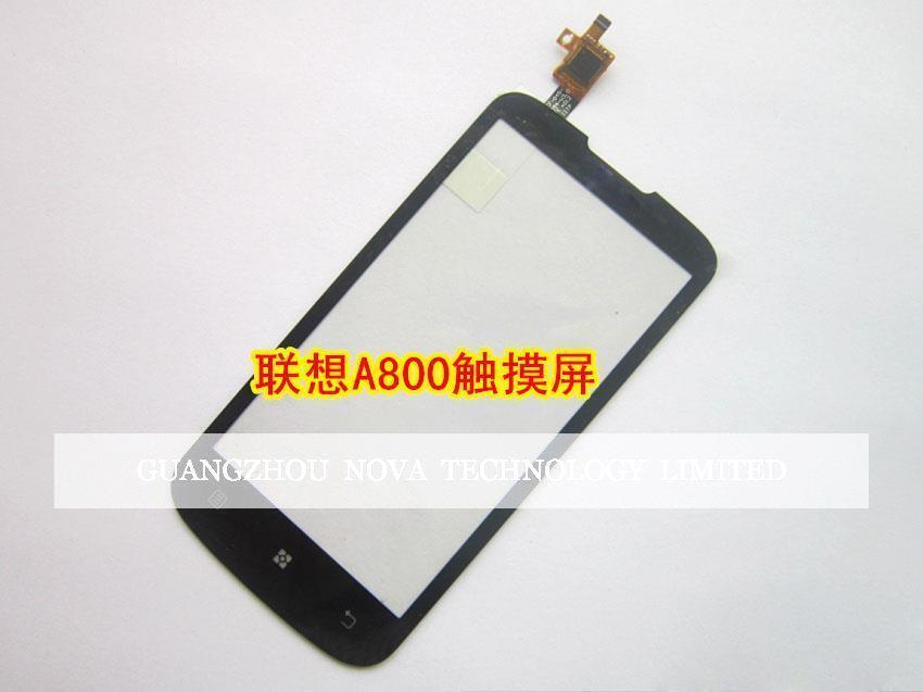 For Lenovo A800 Touch Screen Digitizer Replacement With Logo + 3M Sticker With Free Tracking