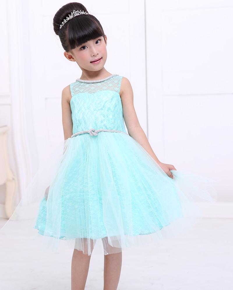 Child Bridesmaid Dresses Children Dresses Girls Princess Wedding Dress Kids Baby Clothing(China (Mainland))
