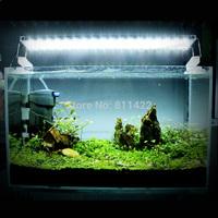 Aquarium Fish Lamp Energy Saving 45 LED 9W Blue White Light coral reef  LED  Light Aquarium Accessory
