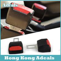 2pcs Safety Seat Belt Clip Buckle Adjustable Extension Extender Car Universal