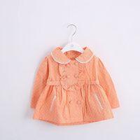 2015 baby coat spring candy color lovely girls blouse Korean girl jacket baby clothing Female baby fashion coat free shipping
