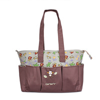 36*14*28 CM Multifunctional High Quality Tote Baby Shoulder Diaper Bags Durable Nappy Bag Mummy Mother Baby Bag 2015 New Fashion