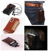 Mountain climbing camping outdoor activities Leather Holster Belt Clip wallet Case For Sony Xperia Z2 D6502 L50W Free Shipping