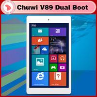 Chuwi V89 dual boot 3G 8.9 inch Tablet PC Windows 8.1 Android 4.4  Z3735F Quad Core 5.0MP Camera RAM 2GB ROM 32GB