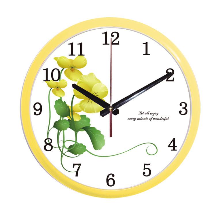 Free Shipping 12 inch Round Wall Clock Quartz Clock Home Decor Digital Watch Hot New Product China Factory Wholesale(China (Mainland))
