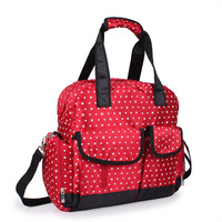 43*15*38CM 2015 New Fashion Multifunctional High Quality Tote Baby Shoulder Diaper Bags Durable Nappy Bag Mummy Mother Baby Bag
