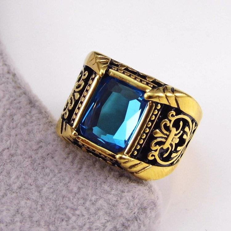 золотые кольца рубином