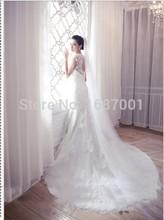 Wedding Veil 3 meters silk tulle 2 Tier 2015 Modest Designer White or Ivory Acessorios Casamento(China (Mainland))
