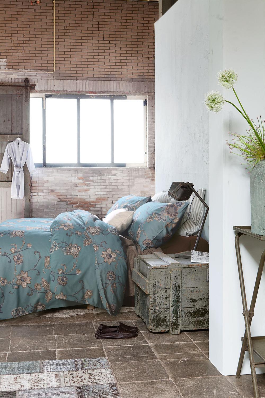 Estilo europa jogo de cama de luxo de qualidade de exportação definir lençóis impressão reativa lixar roupa de cama de algodão(China (Mainland))