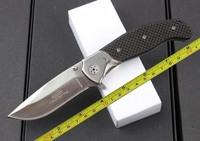 Free Shipping NEW DDR Meyerco Black Carbon Fiber Handle Pocket Folding Knife F--DDR