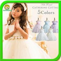 Hot Sale Baby Girls party dress 2014 Summer dresses for girls flower girl dresses  Bebe Princess dress for girl