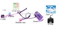 HD DV camera,FPV LANC remote controller  RC can control