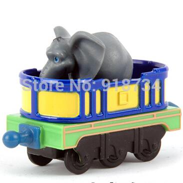 100% original!!! Learning Curve Chuggington Diecast Train Toy --- Rare Mtambo's Safari Cars Elephant BLUE(China (Mainland))